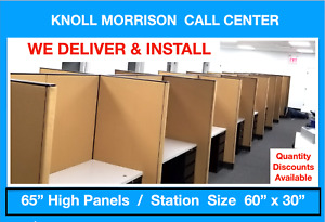 Knoll Morrison Cubicle Workstations