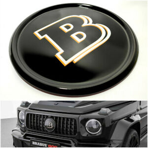 Mercedes G Wagon G63 W463a Brabus Style Fiberglass Front Grille Badge Original