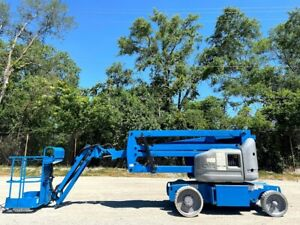 2010 Genie Z40 23n Rj Electric Articulating Jib Boom Late Model Genie Boom Lift