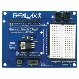 Parallax Board Of Education Shield For Arduino
