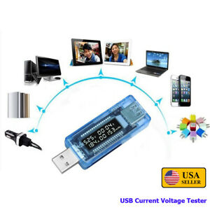 Usb Mini Current Voltage Tester Doctor Charger Capacity Power Bank Meter Ammeter
