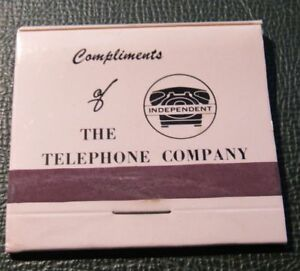 Matchbook - Independent Telephone Company missing 1 match