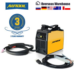 110v No Gas Mig Welder Gasless Igbt Inverter Automatic Feed Flux Core Wire Weld