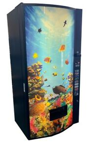 Vendo Multi Price Drink Vending Machine Aquarium Cans Bottles Free Shipping