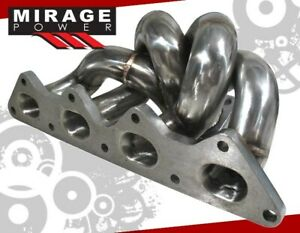 For 90 99 Eclipse Gst Gsx 2g Dsm 4g63 Stainless Steel Turbo Manifold Td05 Td05h