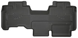 Husky Liners Weatherbeater Rear Floor Mat Blk For 09 2014 Ford F 150 Super Cab