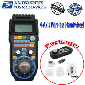 Cnc Mach3 Wireless Electronic Handwheel Manual Controller Usb Handle Mpg Us New