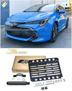 Eos For 19 Up Toyota Corolla Hatchback Front Tow Hook License Plate Bracket