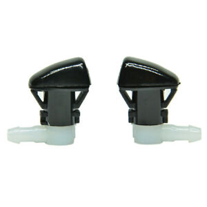 New 2pcs Windshield Washer Nozzle Fits For 2011 2019 Dodge Durango Usa