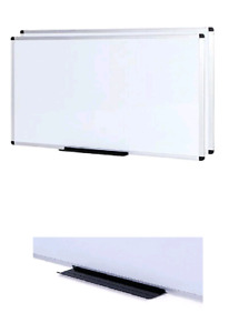 Viz pro Dry Erase Board whiteboard Non magnetic 48 X 36 Inches 2 Pack Wall Mo