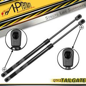 2x Rear Window Glass Lift Supports Struts With Hardtop For Jeep Wrangler 97 06