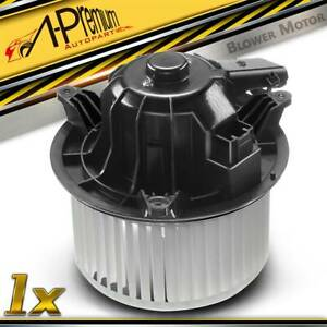 A C Heater Blower Motor W Fan Cage For Ford F 150 2009 2014 Expedition Navigator
