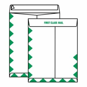 Open End First Class Tyvek Catalog Envelopes 6 X 9 14 Green Diamond