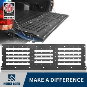 Hooke Road Tailgate Reinforcement Steel Plate Guard For Toyota Tacoma 2005 2015