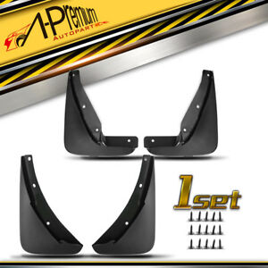 A Premium 4x Rock Splash Guards Molded Mud Flaps For Dodge Challenger 2015 2020