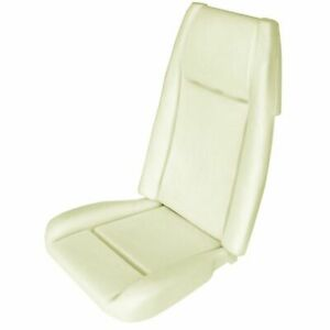 Replacement Standard Bucket Seat Foam W Listing Wires For 1970 Mustang Mach 1