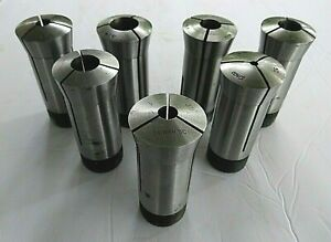 5c Collets Total Of 7 Round Collets 5 8 9 16 3 8 5 8 3 16 3 4 3 8 Lathe