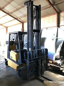 Yale 11 500lb Forklift Year 2005 High Mast Hard Tires Nice Condition Runs Good