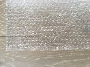 3 16 Small Bubbles Plastic Wrap Cushioning Wrap 12 x10ft Perforated Every 12