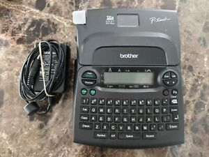 Brother Pt 1890 P touch Label Maker With Brother Power Supply