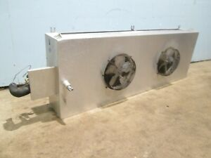 witt Laa 740 H d 2 Fans 1 30hp 115v Walk In Cooler Low Profile Evaporator