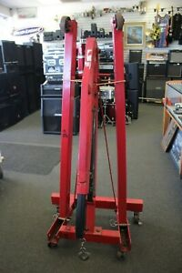 Larin Eh 2fb Foldable 2 Ton Engine Hoist Local Pick Up Only