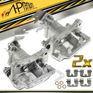2x Rear Left Right Brake Caliper With Bracket For Acura Tsx Honda Accord 08 14