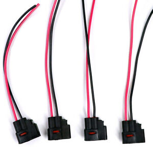 4pcs Ignition Coil Plug Pigtail Harness Connector For Toyota Lexus 90980 11246