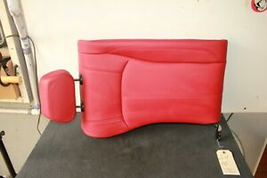 2017 2019 Alfa Romeo Giulia Rear Right Upper Second Row Seat Red Oem 7622695