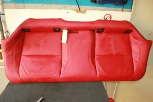 2017 2019 Alfa Romeo Giulia Rear Second Row Lower Seat Red Leather Oem 7622695