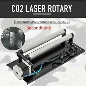 Secondhand Regular rotation axis Cylinder Rotary for co2 laser engraver machine