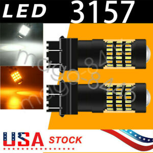 Switchback Led Bulbs For 2015 2020 Toyota Camry Turn Signal Light Drl Conversion