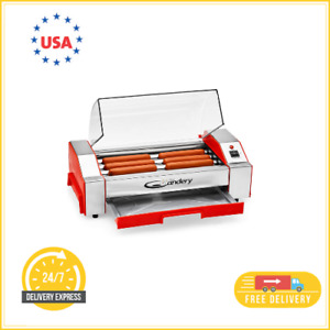 Hot Dog Oven Machine Cooker Roller Toaster Sausage Kitchen Bun Warmer Rollers