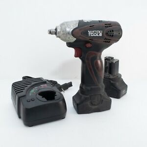Matco Tools Mcl1638iw Infinium 3 8 Impact Wrench 2 Batteries Charger