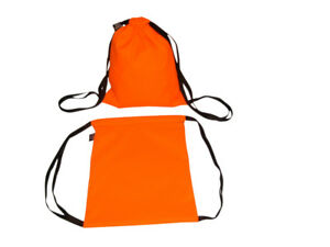 First Aid Drawstring Pack wholesale 12 Orange Bags search Rescue Made In Usa