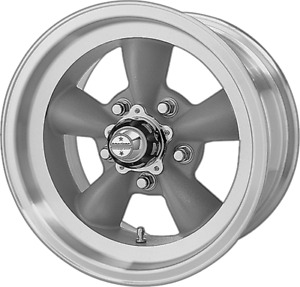 15 Inch Vn105 15x6 Torq Thrust D Gray Rims Wheels 5 Lug Chevy 5x4 75