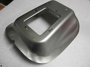 Nova Chevy Ii Steel 4 Speed Floor Hump For Console Equipped Cars 68 72