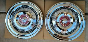 1955 Thunderbird Wire Hubcaps