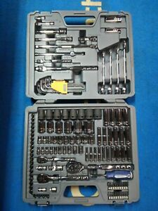 New Bluepoint Tools 128pc Master Metric Set 1 4 3 8 And 1 2 Drive Blpatscm128