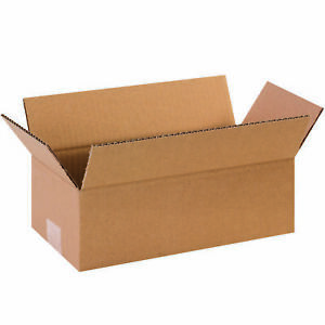 25 12 X 12 X 6 Corrugated Shipping Boxes Storage Cartons Moving Packing Box