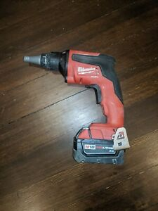 Milwaukee M18 Fuel Brushless Drywall Screw Gun With M18 3 0 Battery 2866 20