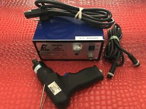 Kolver Edu3ae Power Supply With Pistol Grip Reversible Torque Driver Complete