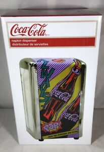 Pop Art Style Coca Cola Napkin Dispenser Holder Coke Home Decor Kitchen