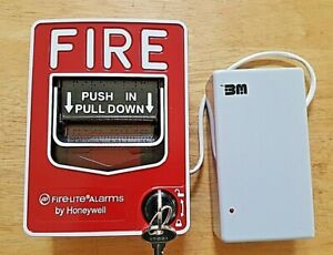 Fire lite Alarms By Honeywell Bg 12l Dual Action Fire Alarm Pull Station New Nos