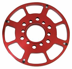 8611 Msd Small Block Chevy 7 Crank Trigger Wheel Red
