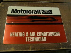 Oem Ford 1970 S Motorcraft Heating Ac Technician Display Advertisement