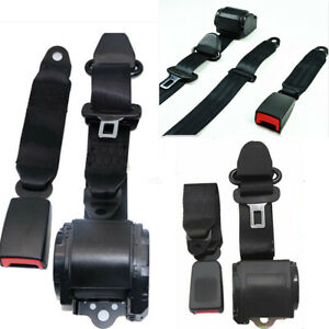 3 Point Retractable Seat Belt For Jeep Cj Yj Wrangler 1982 1995 Universal 2 Sets