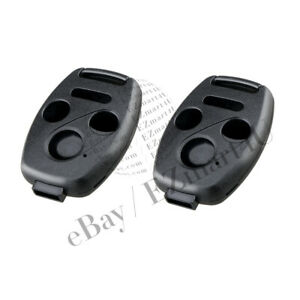 2pcs Replacement For Oucg8d 380h A 03 07 Honda Accord Uncut Shell Case Key Fob