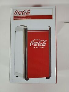 TableCraft Coca-Cola CC342 Drink Coca-Cola Napkin Dispenser