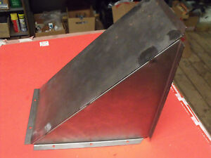 New 66 67 68 69 70 71 72 Jeepster Commando Dauntless V 6 Gas Filler Cover Plate